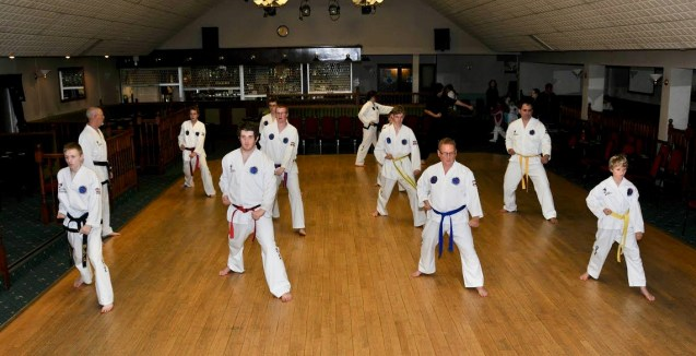 Sumners TKD Training Photos from in the dojang