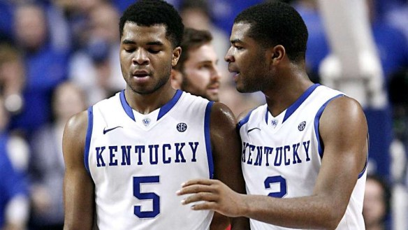 Harrison Twins at Kentucky