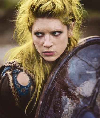 Lagertha (from Vikings) - a Shield Maiden?