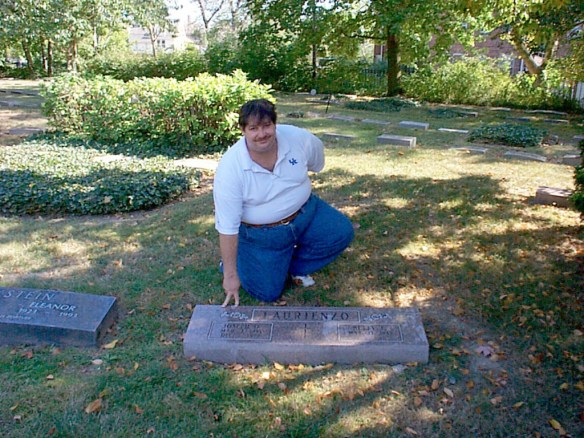 Visiting my natural father's grave in Cleveland, OH