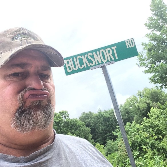 Bucksnort, Tennessee in June 2014