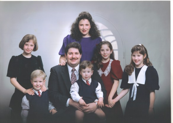 Kravetz Family ca. 1991, taken in Oita, Japan