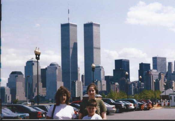 Chelsea and Solomon with David's sister Sherry in New York City 1998