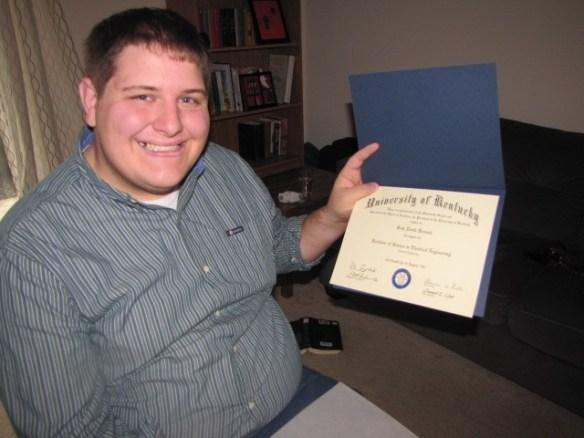 Seth graduation from University of Kentucky