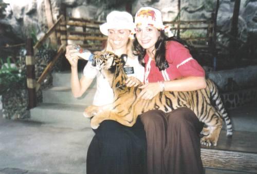 Marissa on her mission in Thailand