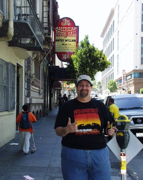 On tour with Antsy McClain in San Francisco in the early 2000s