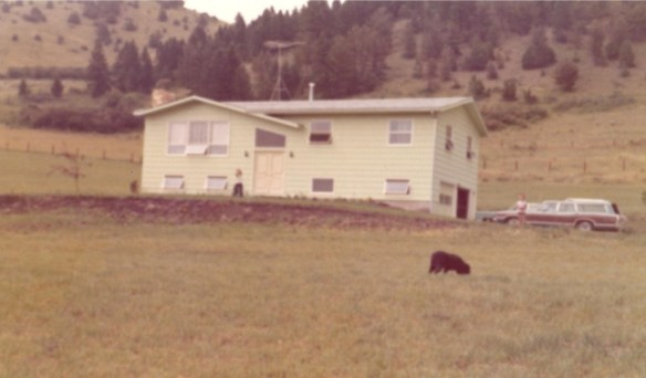 Home in Bozeman, MT (ca 1973)