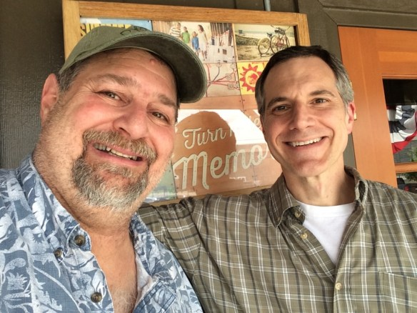 Got to visit with old friend Brian Gavron in Austin, TX