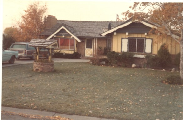 My house in Murray, UT (ca. 1974)