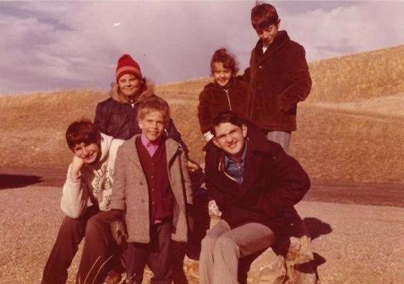 My Siblings - ca 1971