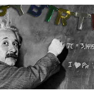 Einstein's Birthday is on Pi Day