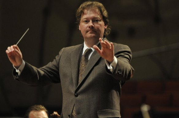 UKSO Conductor John Nardilillo (photo from Lexington Herald Leader)