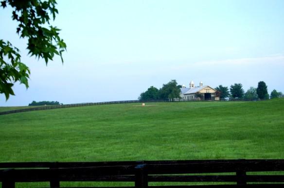 Beautiful barn scene