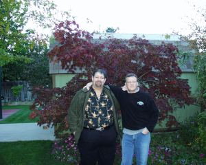 Hanging with Jonathan in October 2007 at his house in bountiful, UT