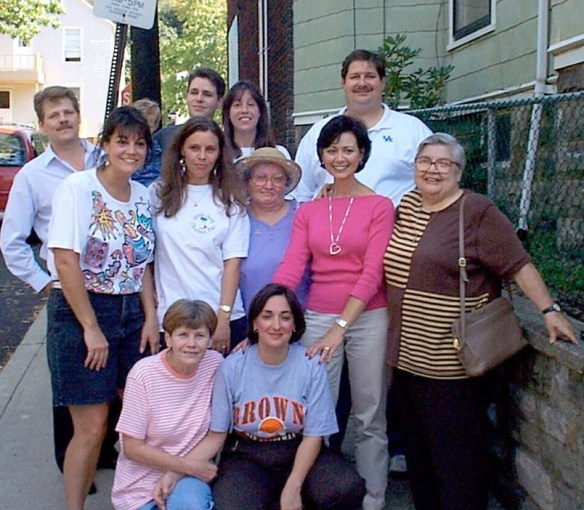 Extended Laurienzo family in Cleveland at the home I grew up in...taken in 2006