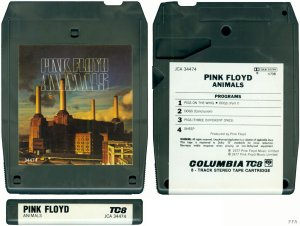8 Track Tape version of Pink Floyd