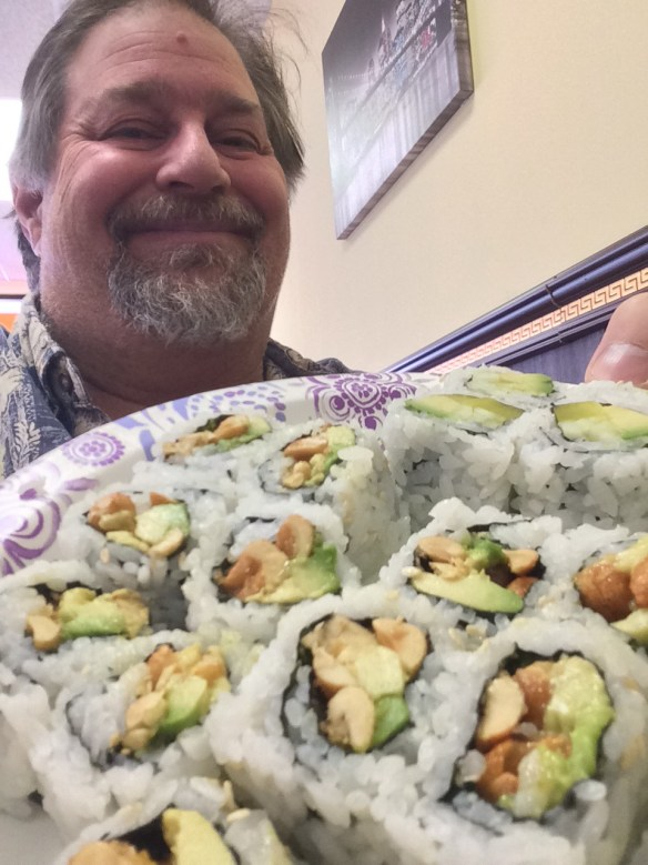 Have some sushi on that wasabi...