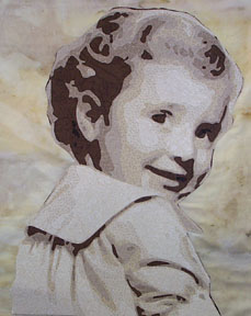 Julianne as a baby - one of her great Photofabrique projects