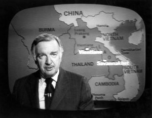 Walter Cronkite in the late 1960s