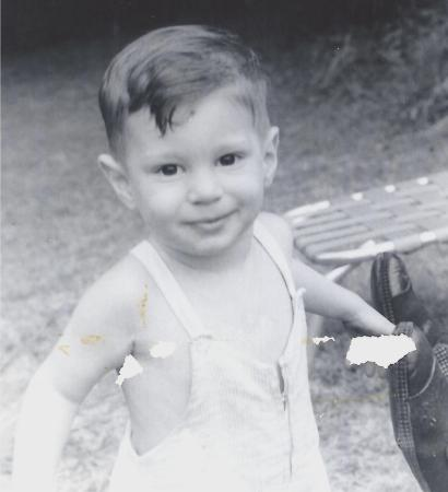 A photo from 1959 (could be 1958 -- heck, I don't remember!!)