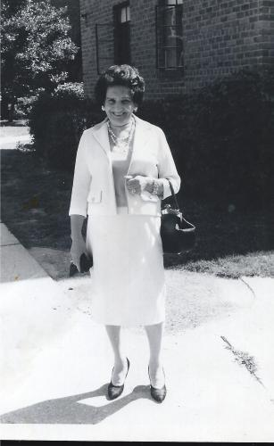Jessica Kravetz in the 1960s