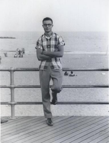 Joe Kravetz around 1959
