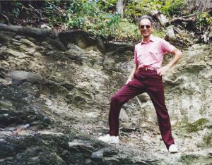 Joe Kravetz in Cumberland Gap