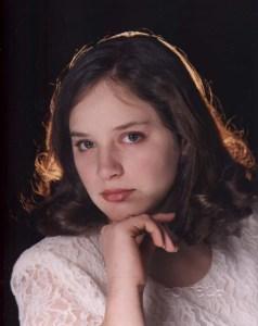 One of Amaree's photos near her high school graduation