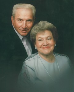 Arlene and Maury Bateman in the 1990s