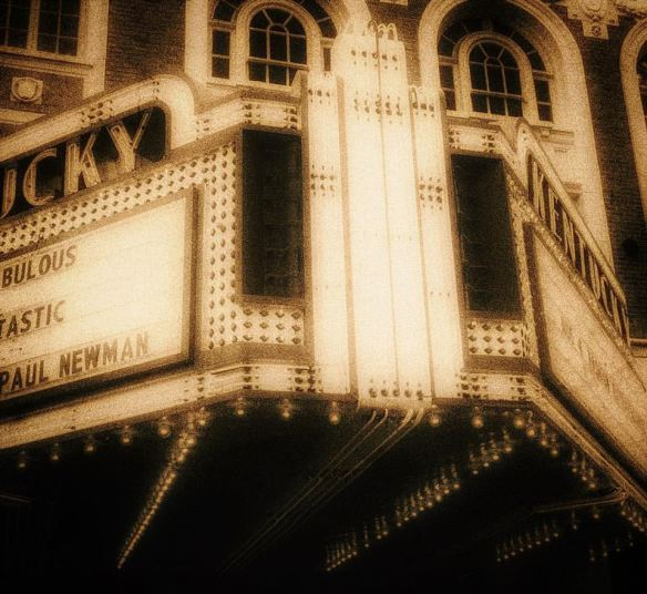 Played with concept pictures from my iPhone - this is the Kentucky Theater