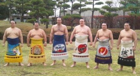 Los seis Ozekis actuales