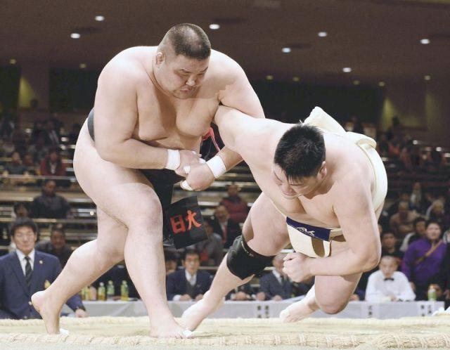 El primer Yokozuna amateur extranjero es un mongol, Baasansuren Turbold. (Foto: Yomiuri Shimbun)