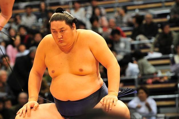 El luchador mongol Tokitenku anunciaba hoy su retirada del sumo en activo (Foto: Martina Lunau)