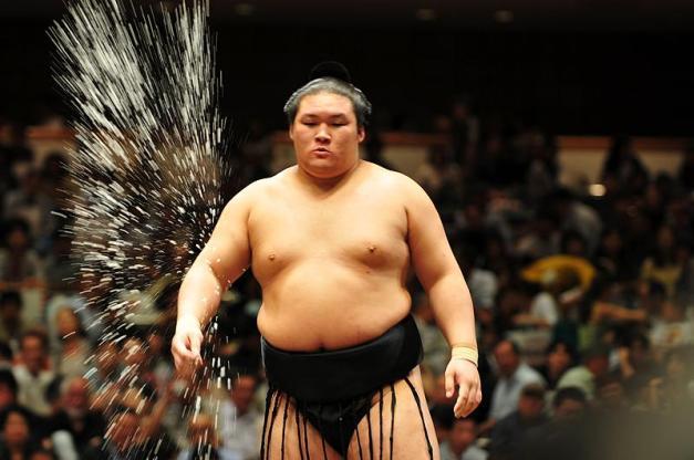 El Ozeki Goeido es uno de los líderes de este Aki Basho