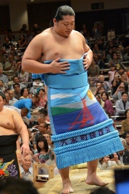 El japonés Endo es una de las estrellas del torneo con tres victorias sobre otros tantos Ozeki (Foto: Martina Lunau)