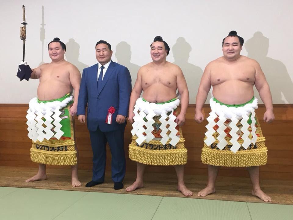 Ceremonia de retirada de Harumafuji