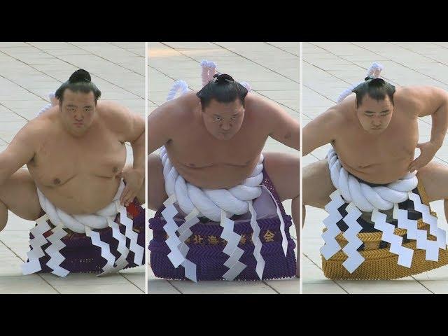 Tres Yokozuna