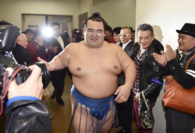 El antiguo Ozeki Kotoshogiku volverá al sanyaku en mayo