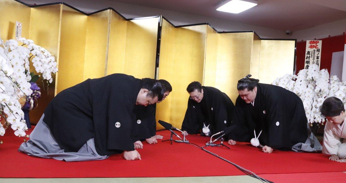 Ceremonia Yokozuna Terunofuji