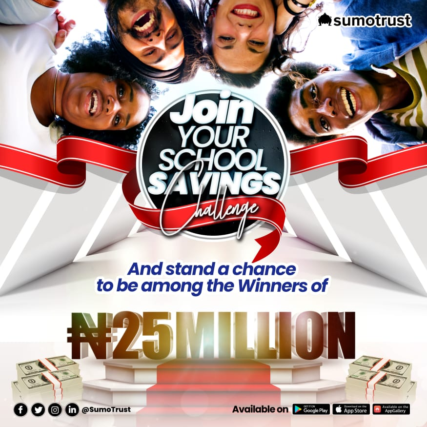 sumotrust campus savings challenge of 25 million Naira