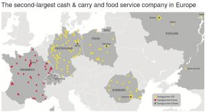 Sump & Stammer GmbH International Food Supply - Member of Transgourmet - TRANSGOURMET EUROPE - THE SECOND-LARGEST CASH & CARRY AND FOOD SERVICE COMPANY IN EUROPE