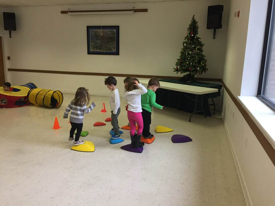 Play Time in the Social Hall