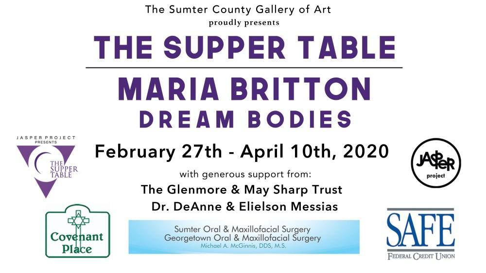 SupperBritton Sponsor Placard
