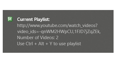 AutoHotkey: Create YouTube Playlist by Copying Video Links to