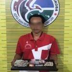 Oknum PNS Dispora Tapsel Ditangkap Polisi di Rumahnya.