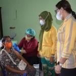Ketua DPRD Langkat Apresiasi Antusias Masyarakat Sei Bingai Ikuti Vaksinasi Covid-19
