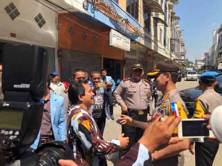 Kapolrestabes Silaturahmi ke Kantor IPK Kota Medan