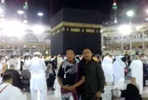 RAMAI: Suasana Tawaf masih ramai di sekitar Makkah.