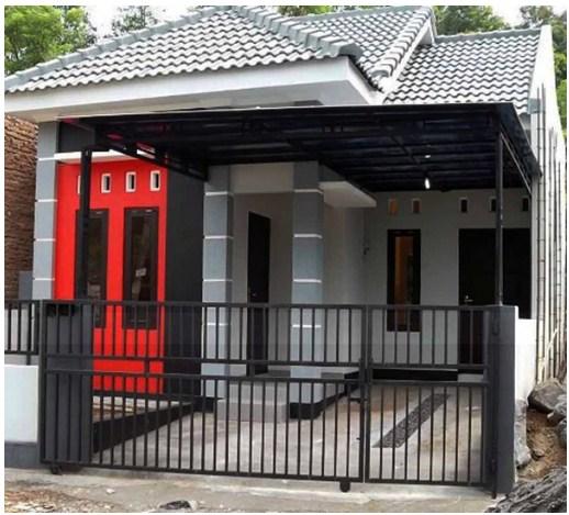 Garasi Untuk Rumah Minimalis Perum Melati