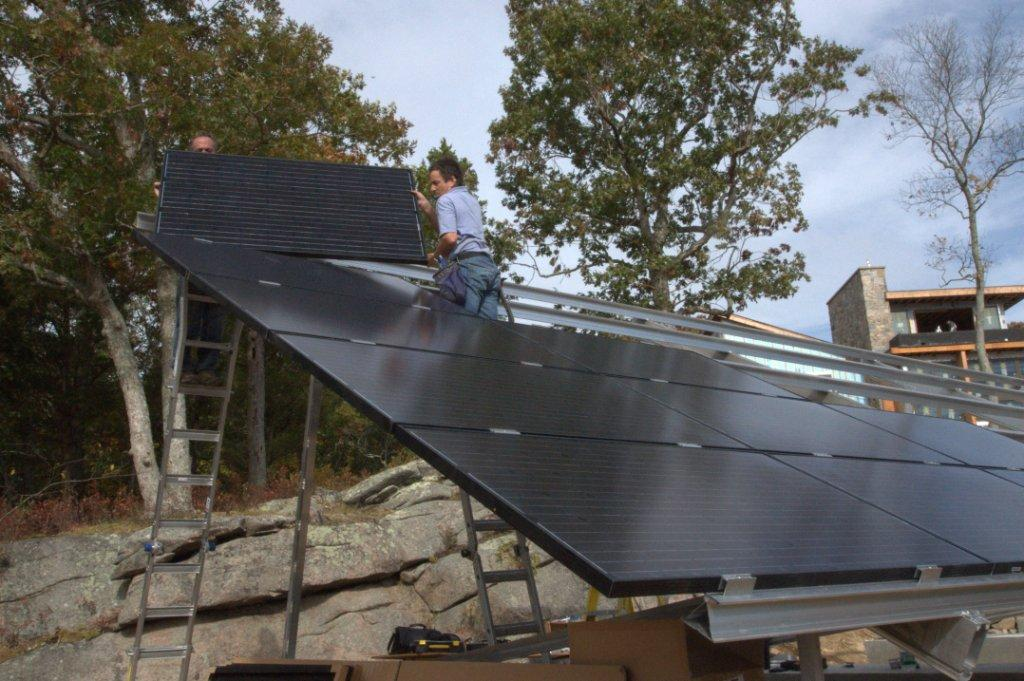 Residential-Ground-Mounted-Solar-Installation Connecticut